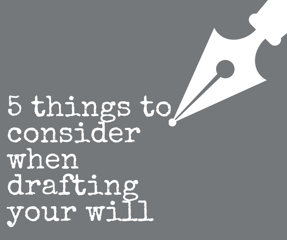 Things to consider during wills month